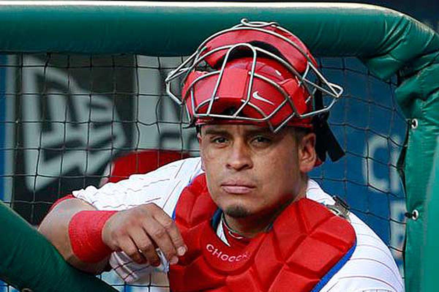 Phillies catcher Carlos Ruiz breaks out in 2012
