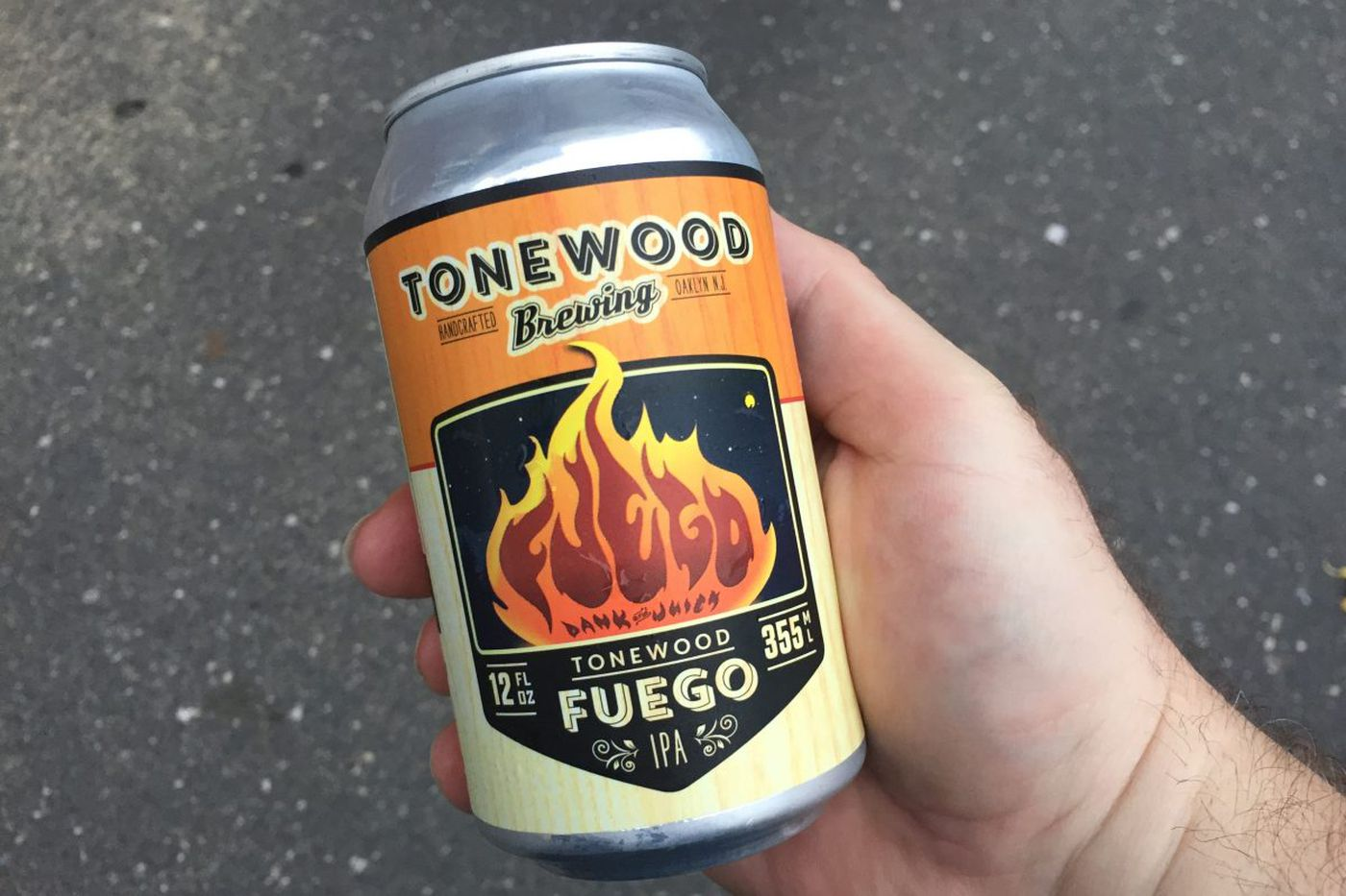 Oaklyn's Tonewood brewpub on fire with hazy Fuego IPA