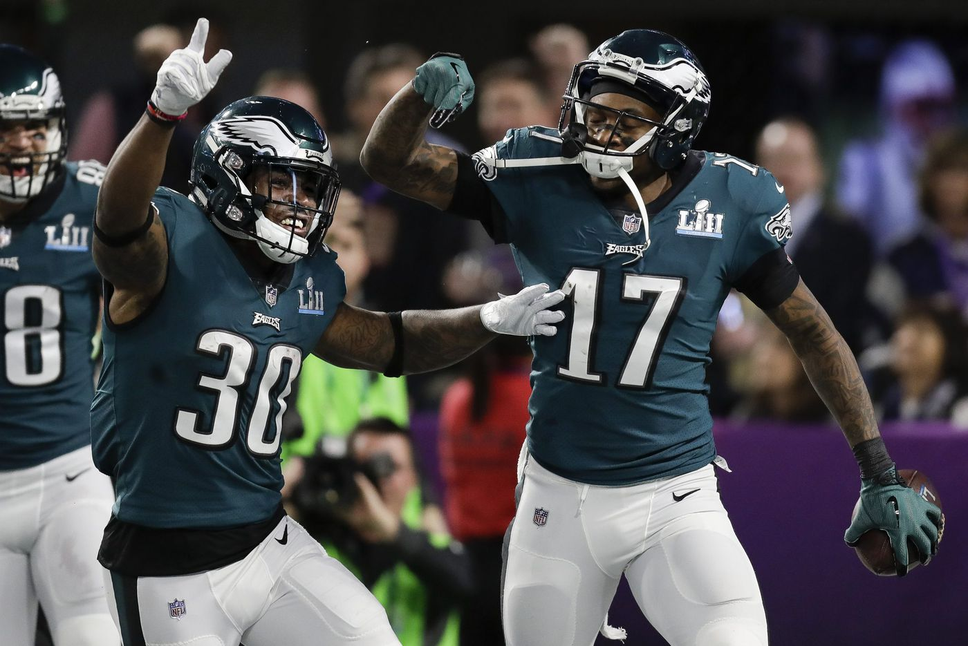 Eagles-Colts inactives: Corey Clement in, Alshon Jeffery out, Josh Sweat and Josh Adams to debut