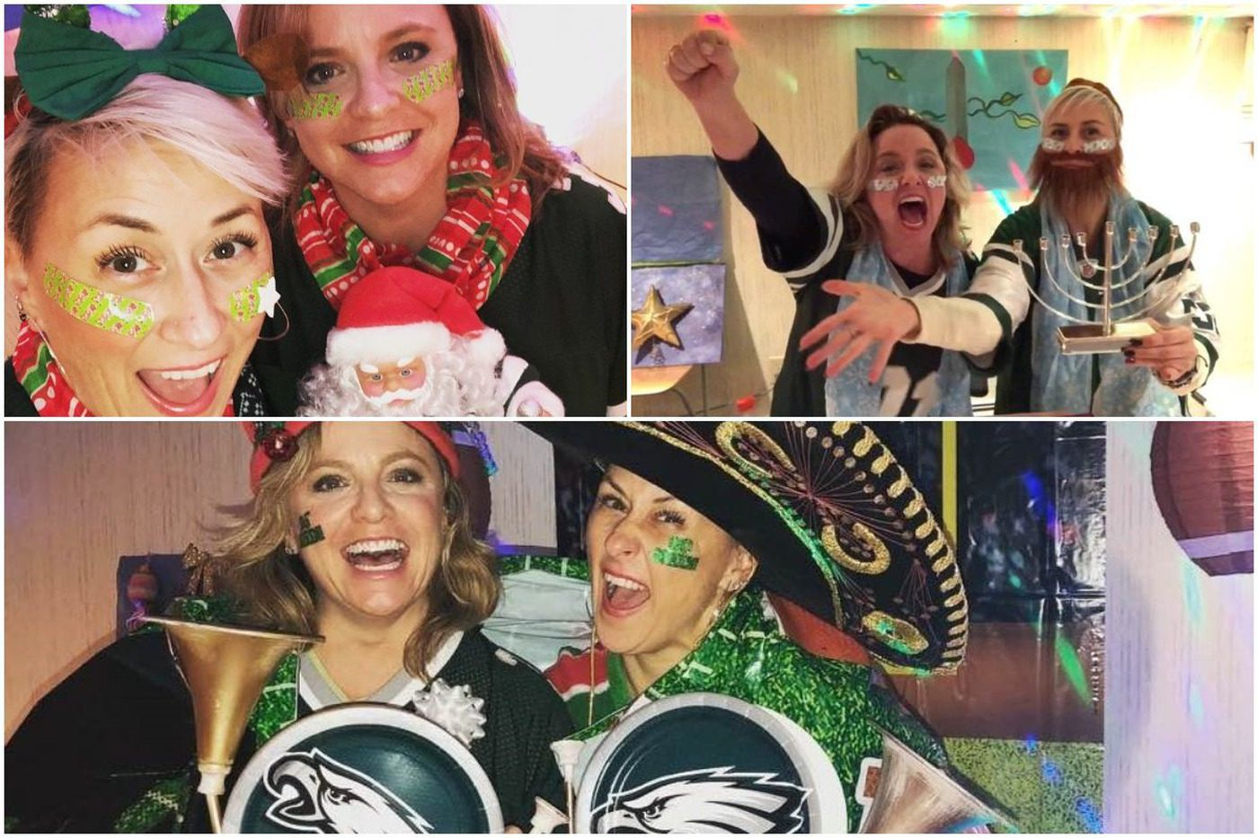 Girls Gone Green: Comedians cheer on the Eagles through song parodies | We the People
