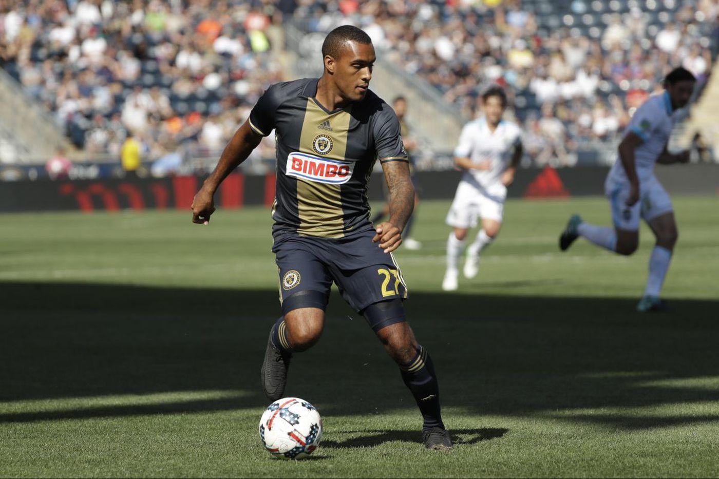 Fafa Picault or Jay Simpson could start for Union at striker vs. Real Salt Lake