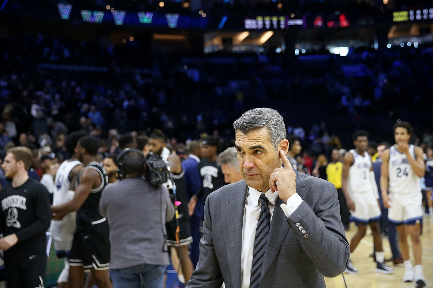 Jay Wright likes the way his Villanova players have handled the uncertainty of the pandemic, can't wait to play games