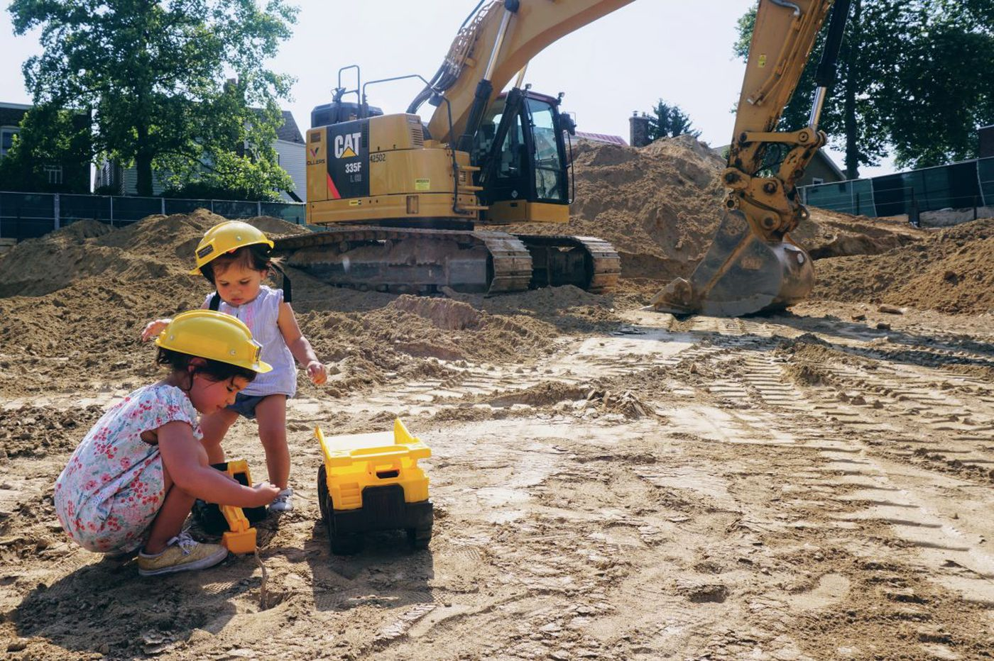 Developers try to ease Ardmore's construction woes with kid-friendly 'Big Dig' event