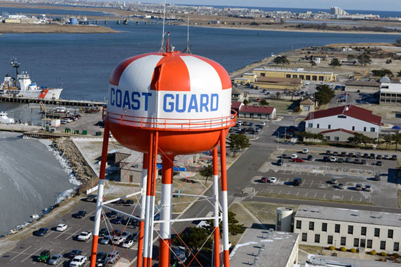 Man arrested with assault rifle, body armor at Cape May Coast Guard facility, police say