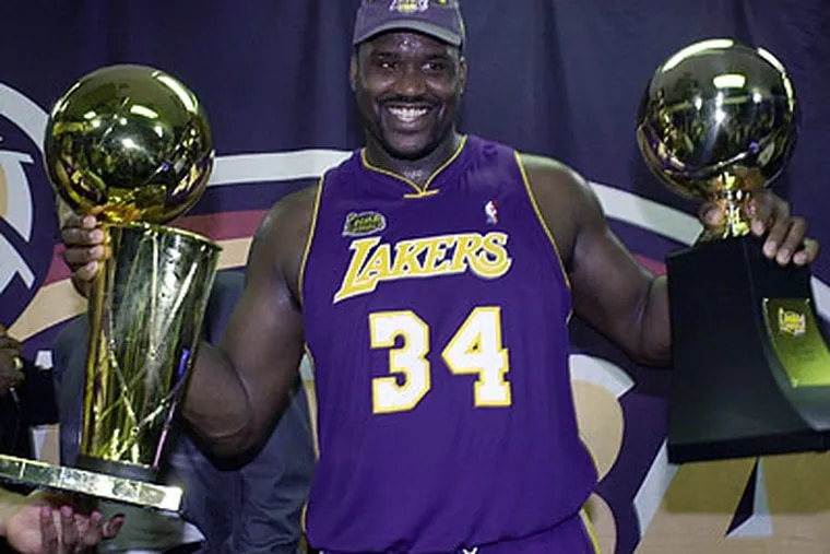 Shaquille O'Neal announced his retirement yesterday after 19 seasons in the NBA. (Mark J. Terrill/AP file photo)