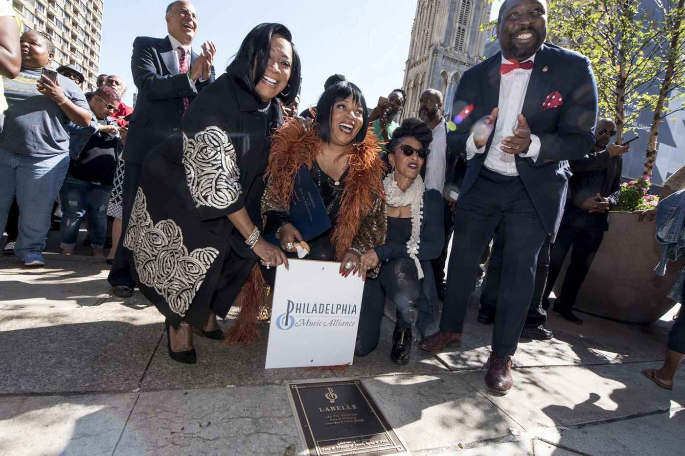 Patti LaBelle, Jill Scott, and others honored at Philly Music Walk of Fame