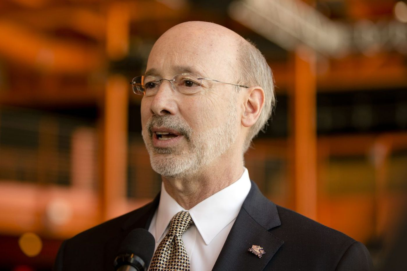 Pa. Gov. Wolf calls on legislators to tighten pension rules