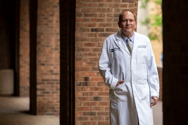 Matthias J. Schnell, professor and chair of Microbiology and Immunology at Thomas Jefferson University, is working on a coronavirus vaccine.