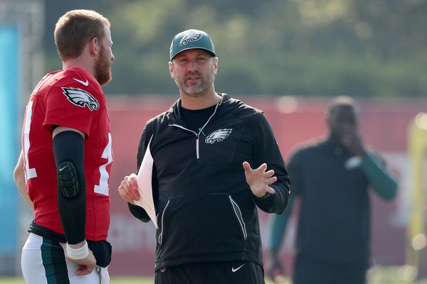 Doug Pederson says Mike Groh deserves credit for Eagles' success | Marcus Hayes