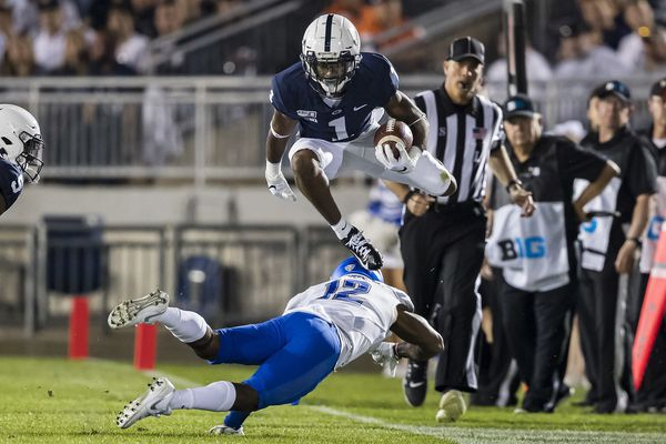 Penn State plans to get speedy wide receiver/return man KJ Hamler more touches | Joe Juliano