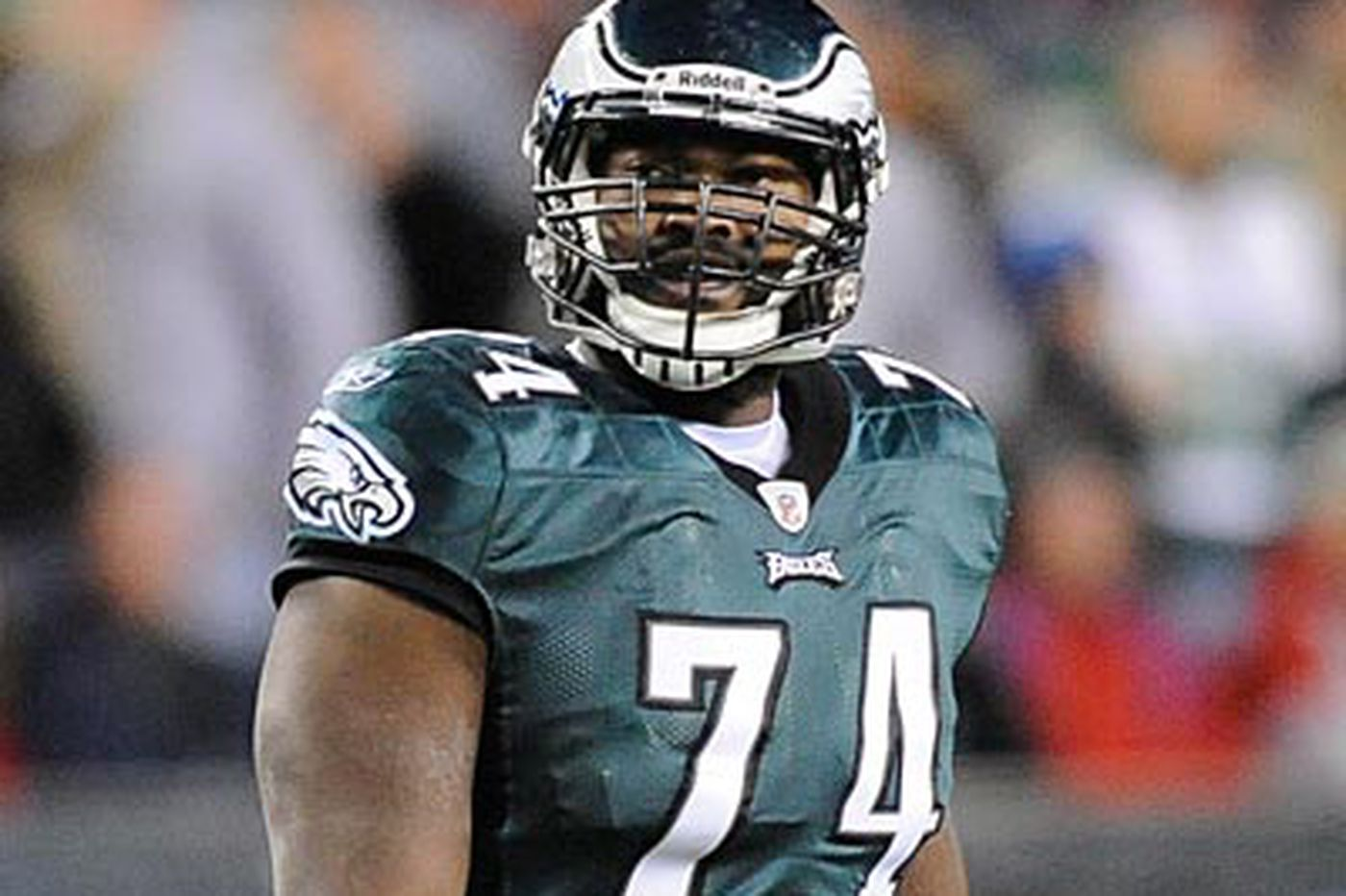 Winston Justice: Knee injury a new experience for Eagles' Justice