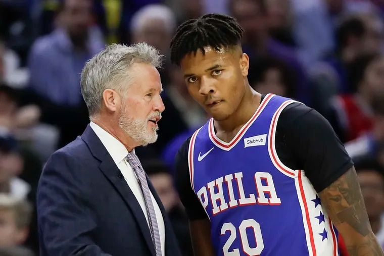 Brett Brown said there's no hard feelings between him and Markelle Fultz.