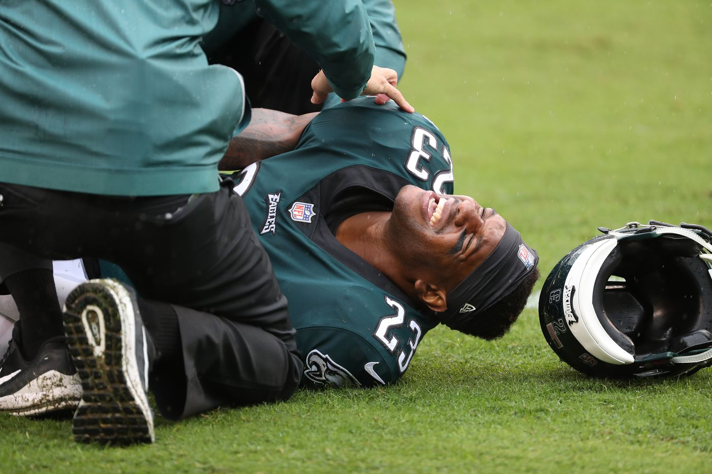 Eagles' Rodney McLeod says he's on track to be ready for season following ACL tear recovery