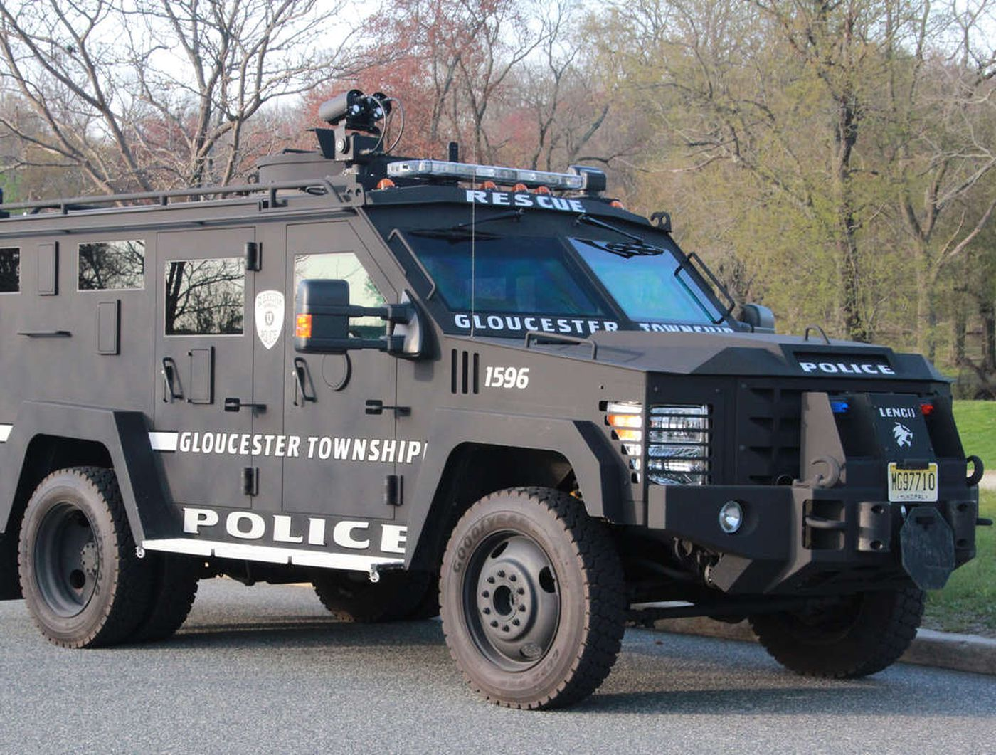 Amid national alarm on police tactics, area arsenals also