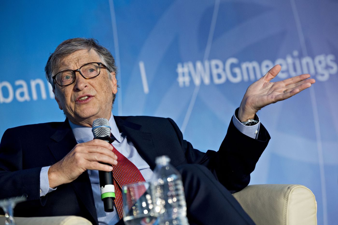 Bill Gates sells nuclear power as the only viable alternative energy source to slow climate change