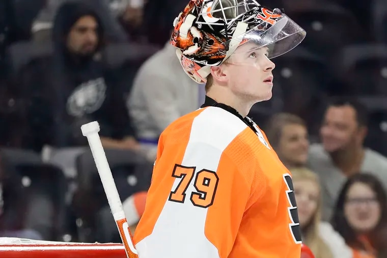 Flyers goaltender Carter Hart did nothing over the 31 games he played last season to suggest he can't or won't be a star in the NHL.