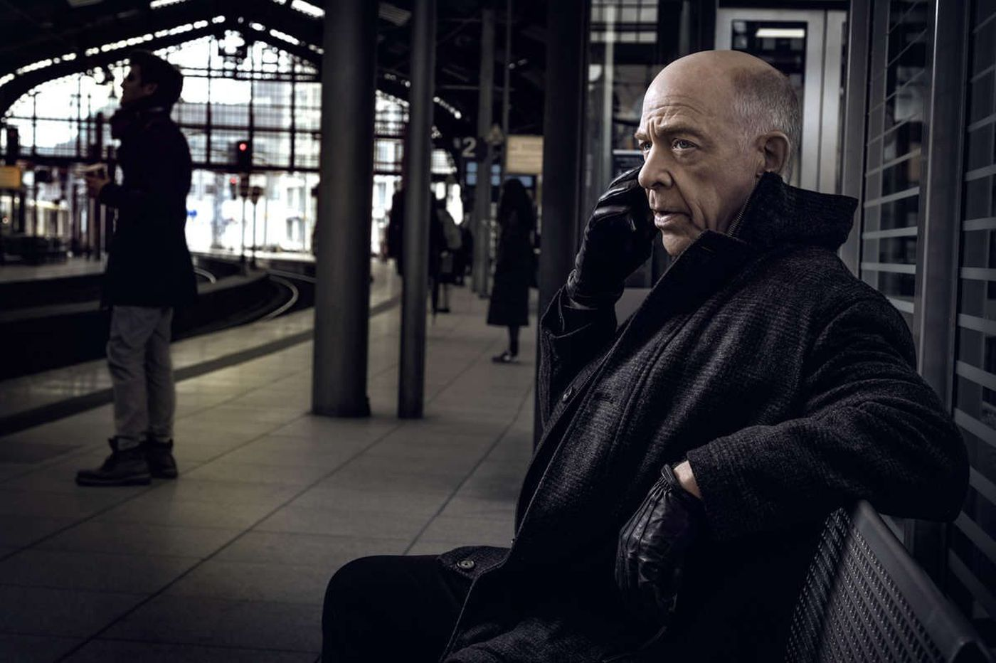 J.K. Simmons talks about starring - opposite himself - in Starz spy drama 'Counterpart'