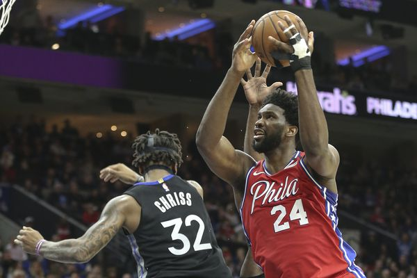 Joel Embiid leads Sixers to 115-104 win over Golden State on night he honored Kobe Bryant