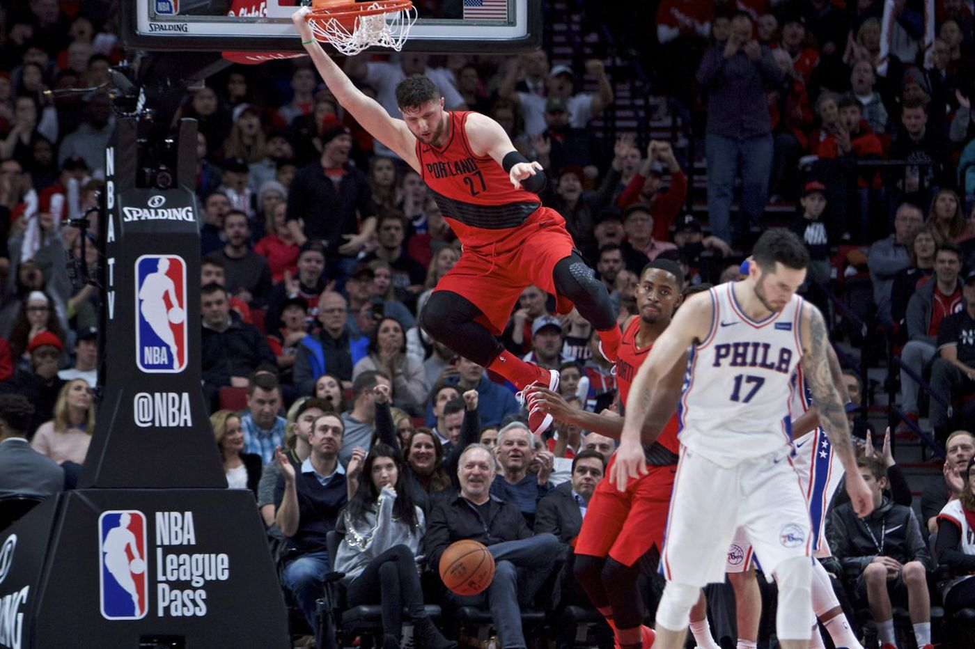 Sixers blow 18-point lead and lose to Blazers, 114-110