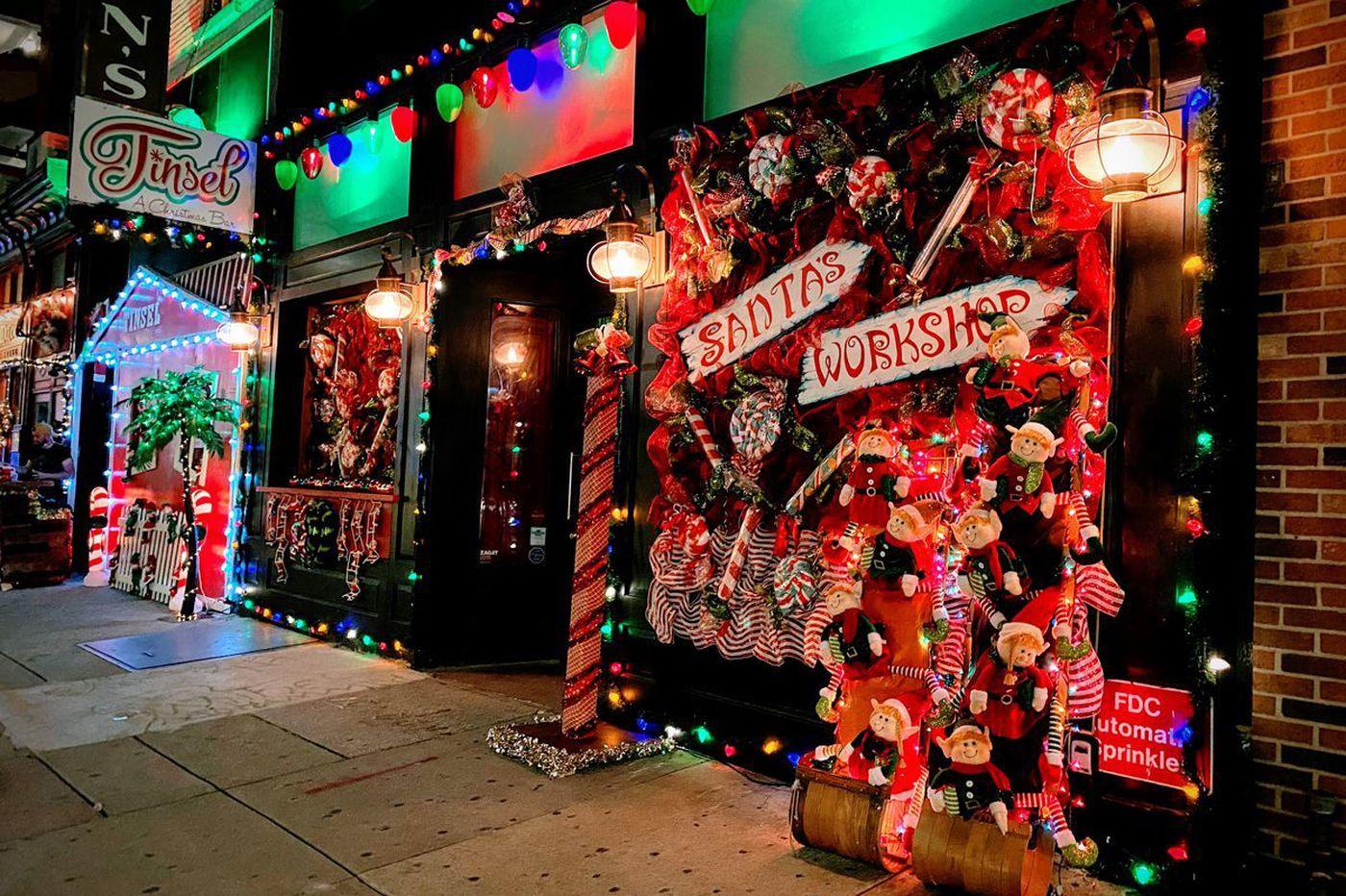 Seasonal bar Tinsel returns to Midtown Village for Christmas in July