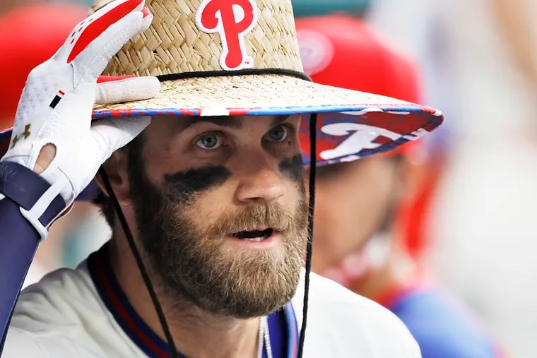 Phillies star Bryce Harper has played his way into the MVP conversation in the National League.