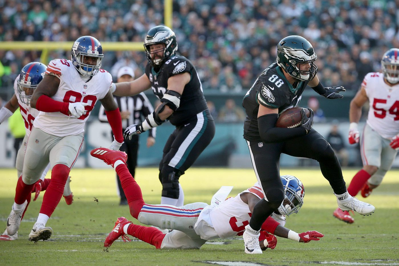 The Eagles could have folded against the Giants. They didn't, and that's something. | David Murphy
