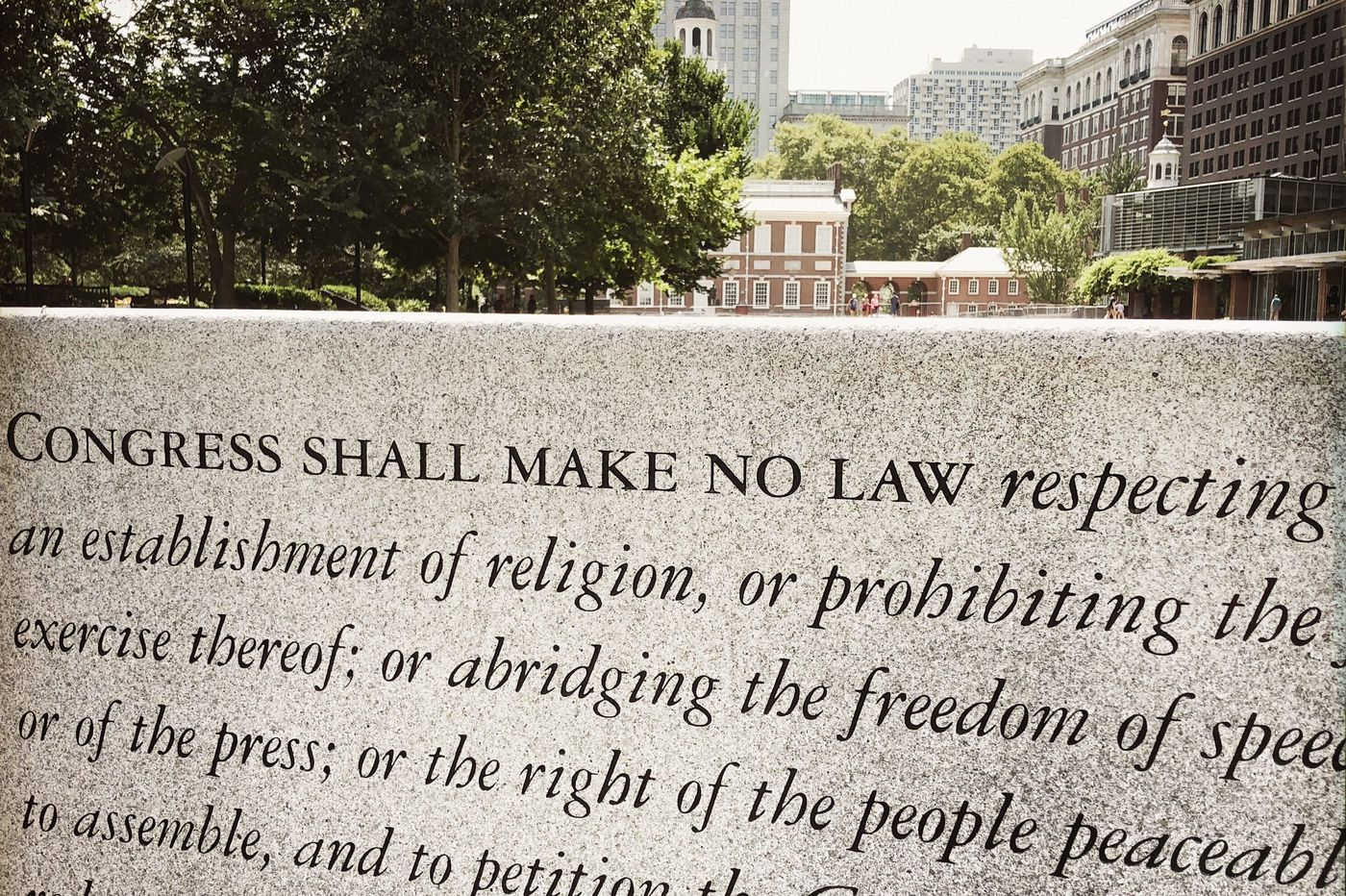 Here's what 15 newspapers around America had to say about freedom of the press
