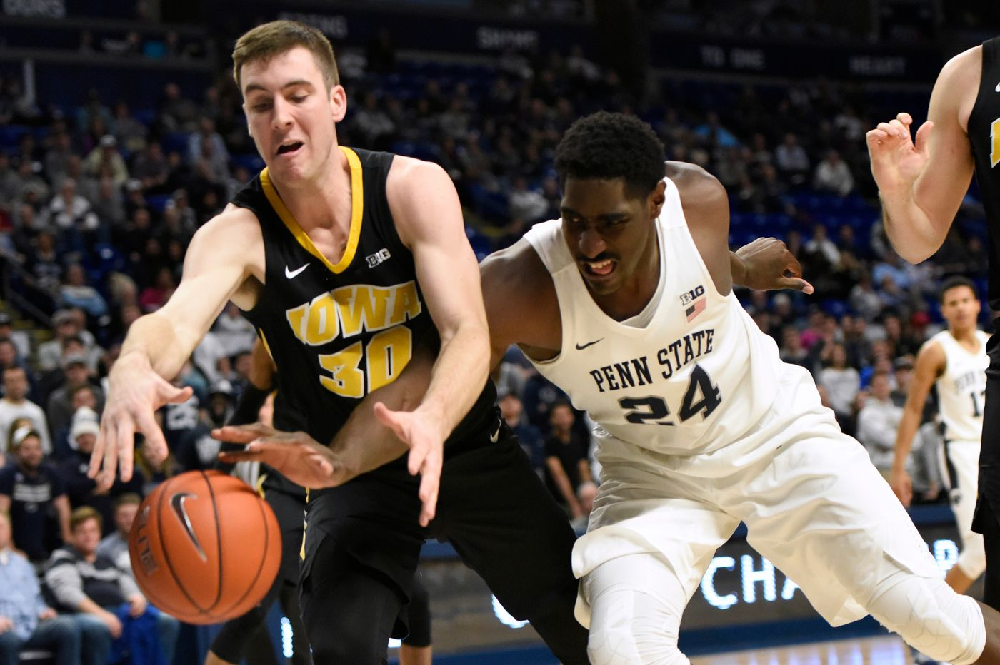 Penn State basketball to host Iowa at Palestra in January