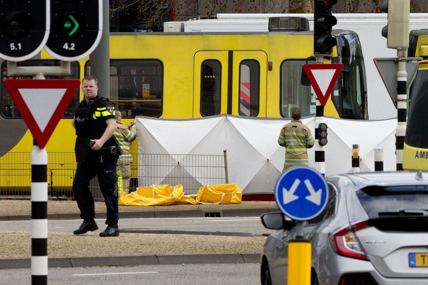 Gunman kills 3 on Dutch tram; mayor says terror likely