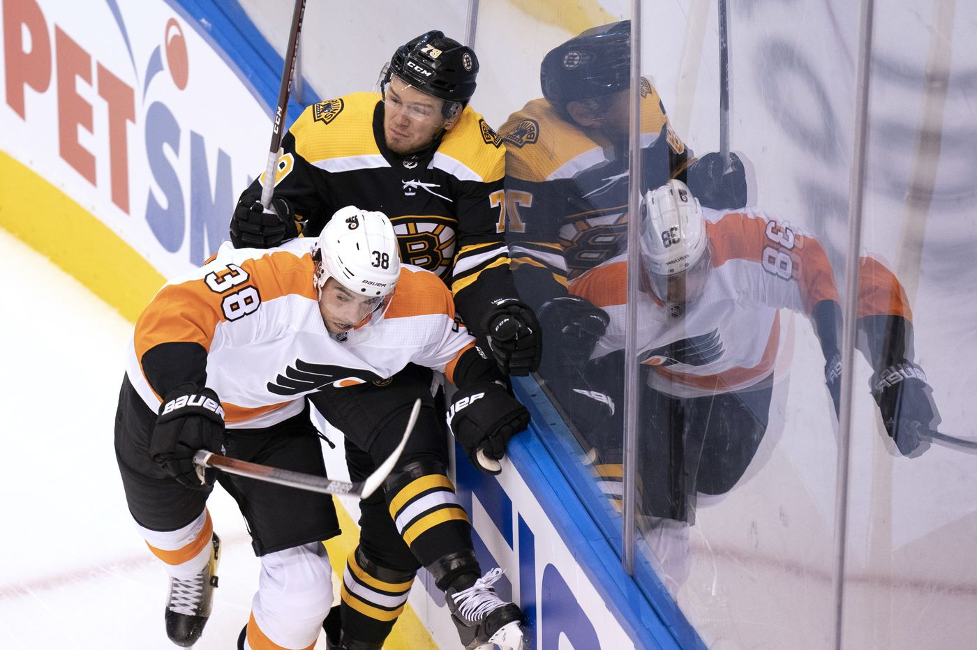 Flyers' bottom line changes fueled round-robin win over Bruins