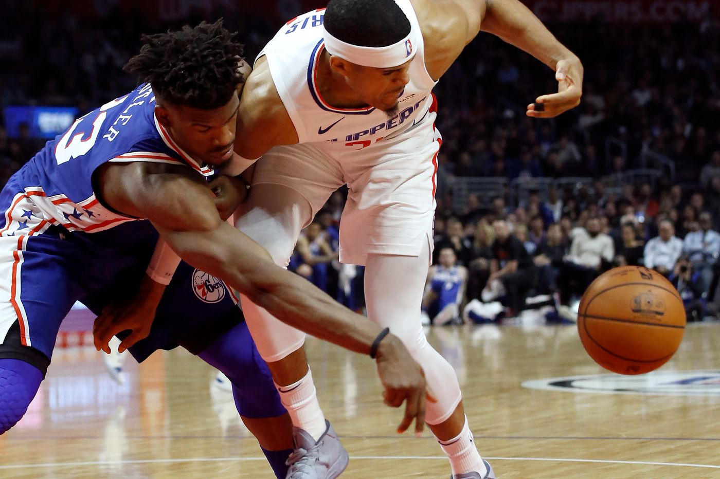 Sixers' Jimmy Butler, Wilson Chandler to miss Wednesday's game vs. Suns