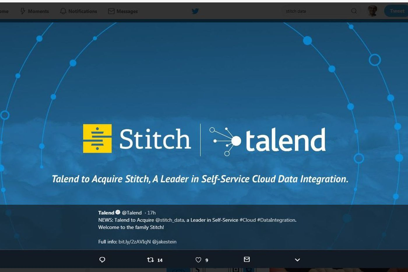 Data deal: Talend pays $60M for Philly-based Stitch