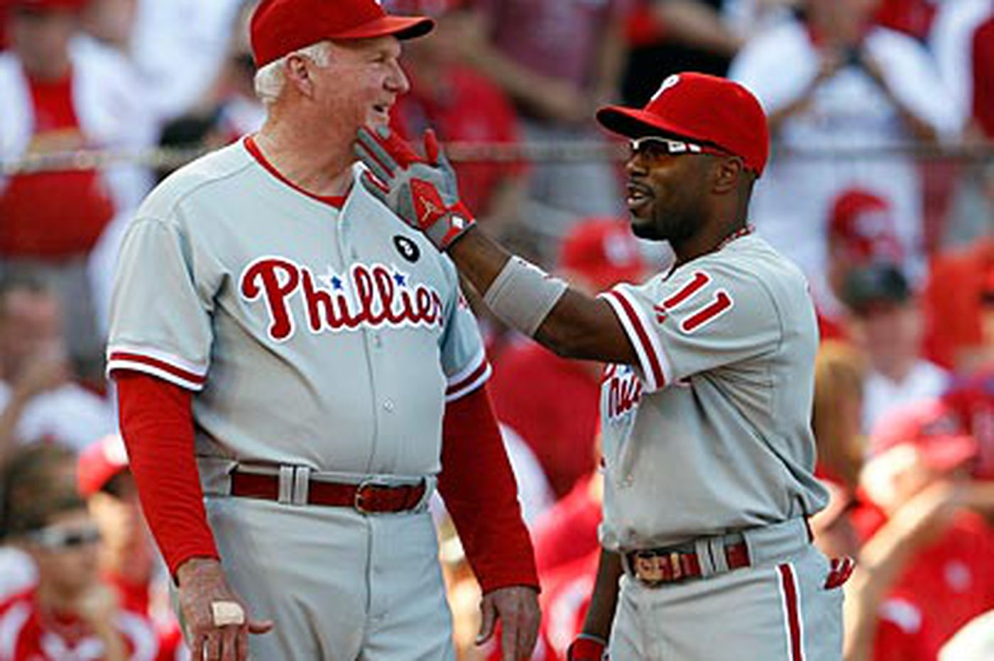 Inside the Phillies: Phillies lineup familiar, and that's a good thing