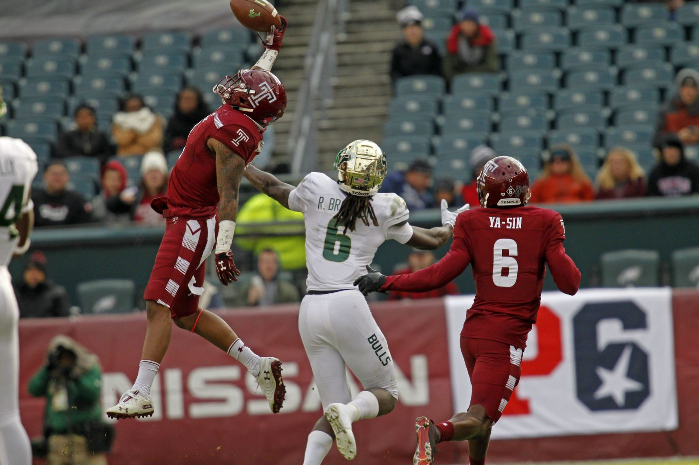 Second-half comeback lifts Temple over South Florida