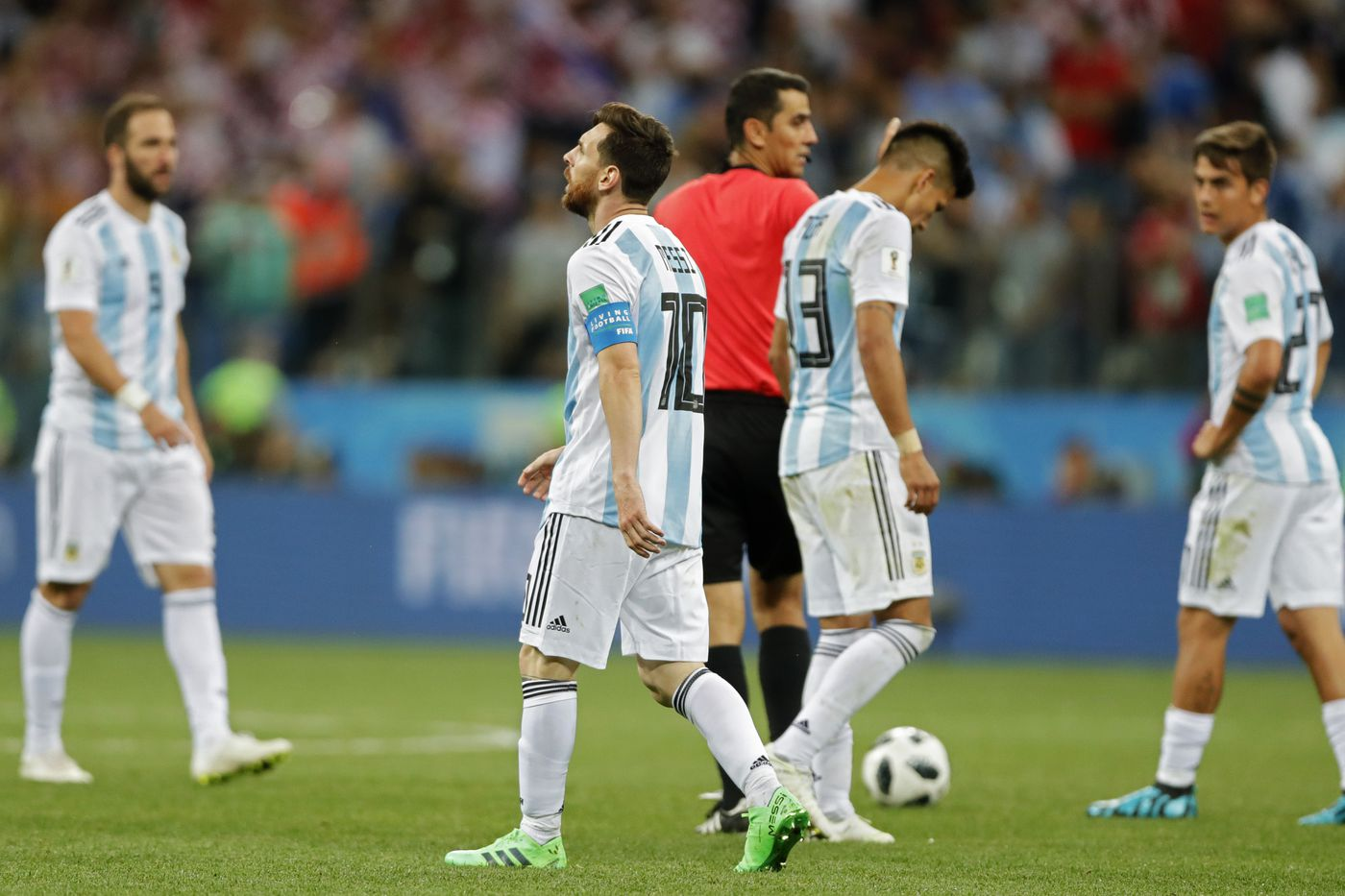 World Cup schedule, TV and streaming info: Argentina, Lionel Messi look to advance past Nigeria