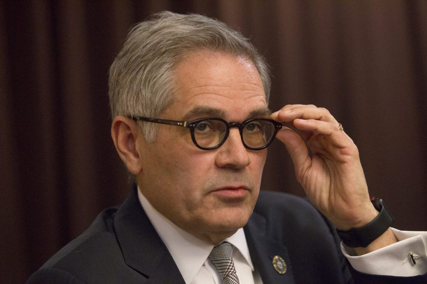 Philly DA Larry Krasner asks City Council for 13% funding increase