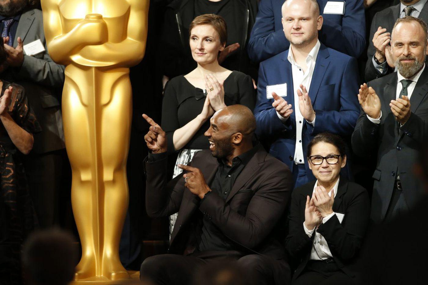 Kobe Bryant wins Academy Award for best animated short