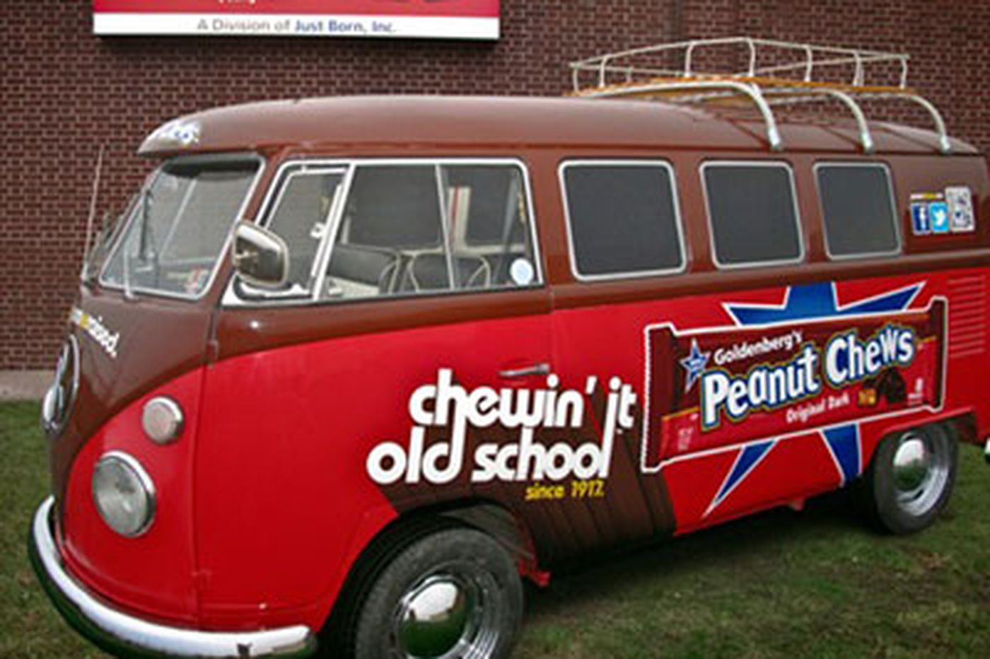 Peanut Chews putting the Goldenberg's name out front again