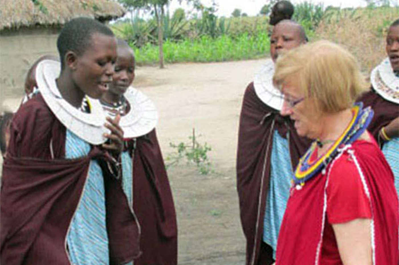 Personal Journey: In a Masai village, a day of wonderful work