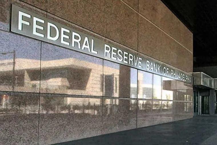 The Federal Reserve Bank of Philadelphia. (Joseph Kaczmarek / Associated Press)