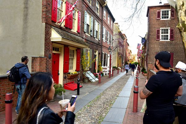 A home on America's oldest residential street with 'Airbnb potential' is for sale in Philly for $1.2 million