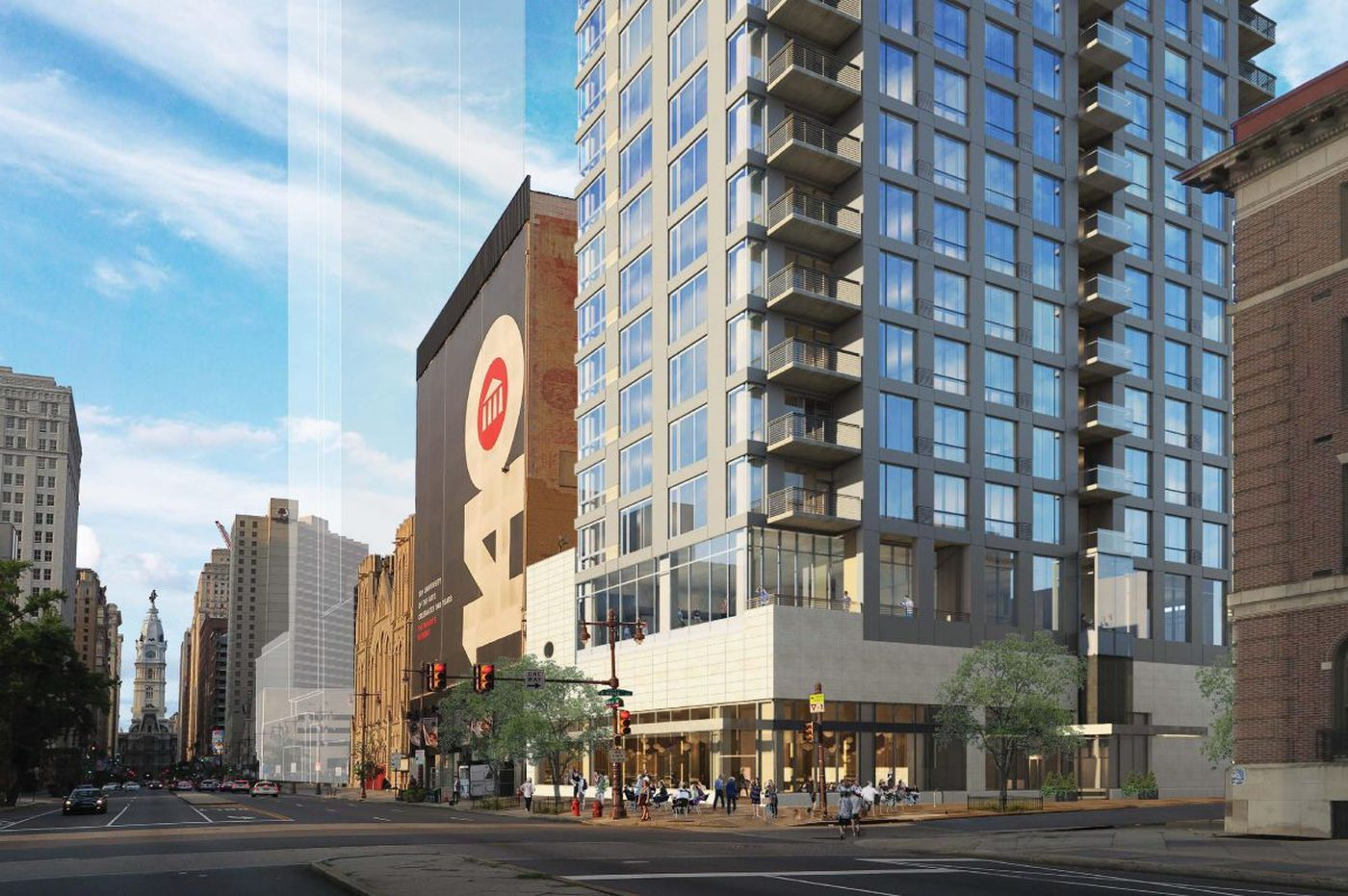 Philly board gives go-ahead to Dranoff's Broad and Pine St. condo proposal