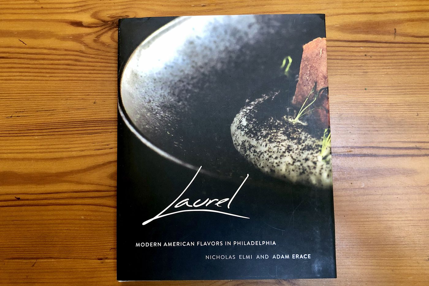Laurel and chef Nick Elmi: New look, new book