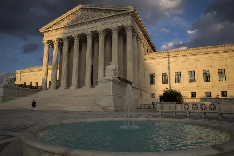 Republicans are asking the U.S. Supreme Court to block a new Pennsylvania map of congressional districts imposed last week by the state Supreme Court to correct gerrymandering. The state high court is controlled by elected Democrats.