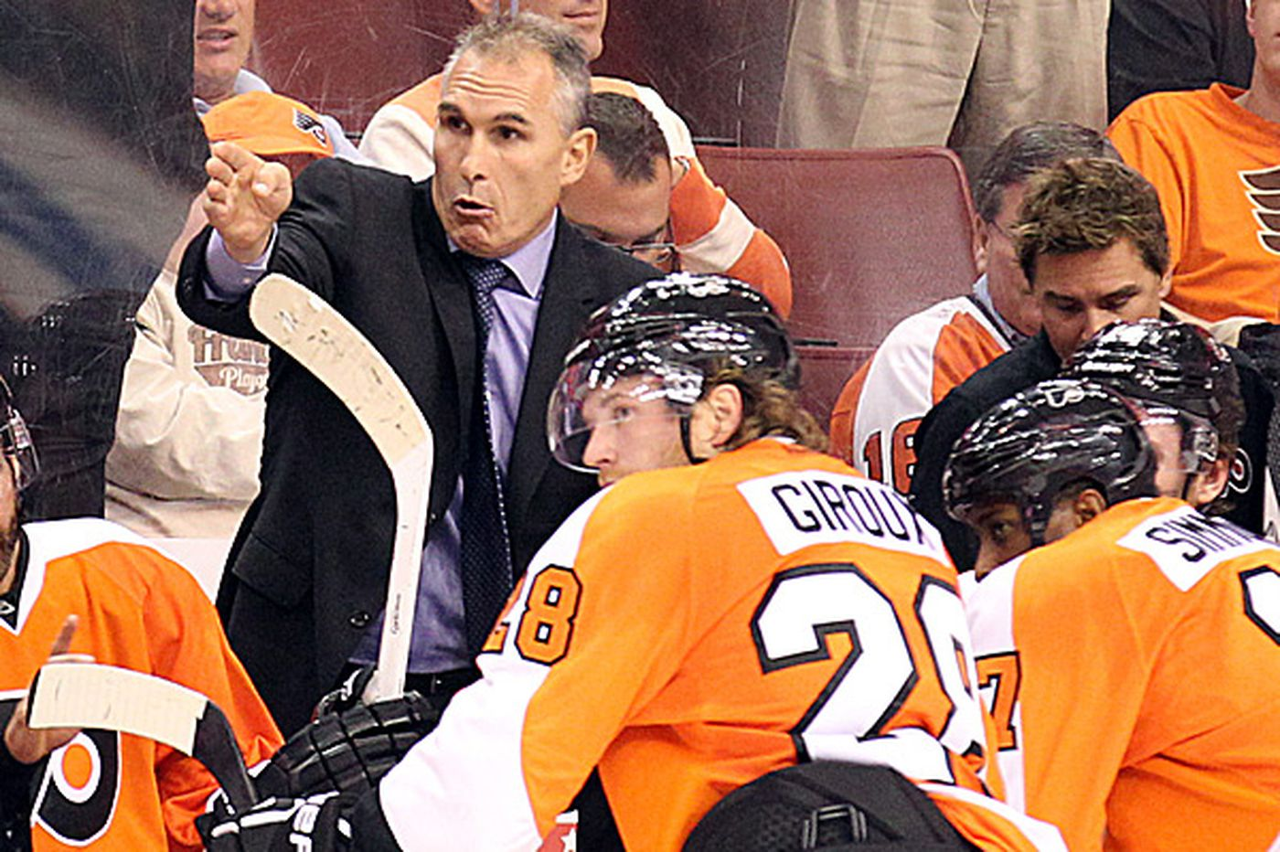 Inside the Flyers: Giroux, Berube have guided Flyers to postseason's doorstep
