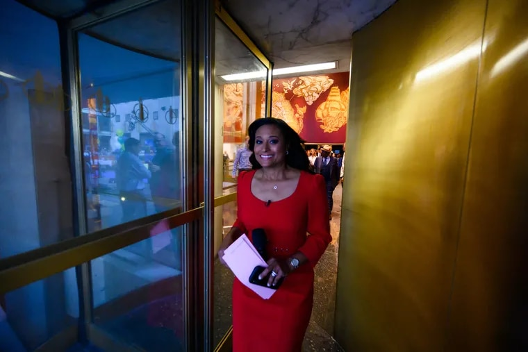 Philly native Kristen Welker pictured on Thursday, August 29, 2019. She's joining the weekend anchor desk at the 'Today' show.