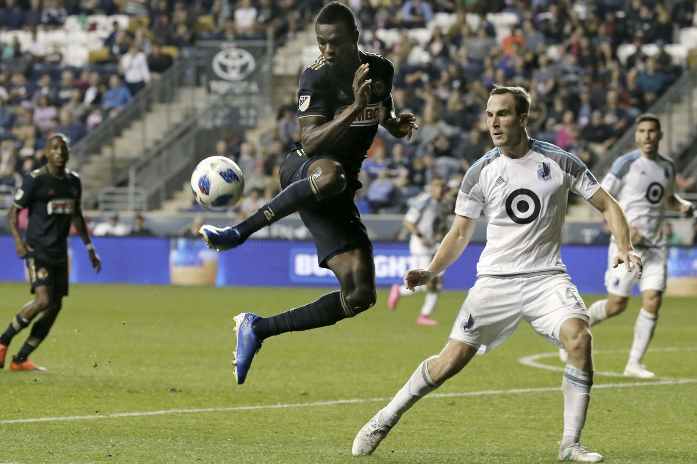 Union clinch first playoff berth since 2016 with 5-1 win over Minnesota United