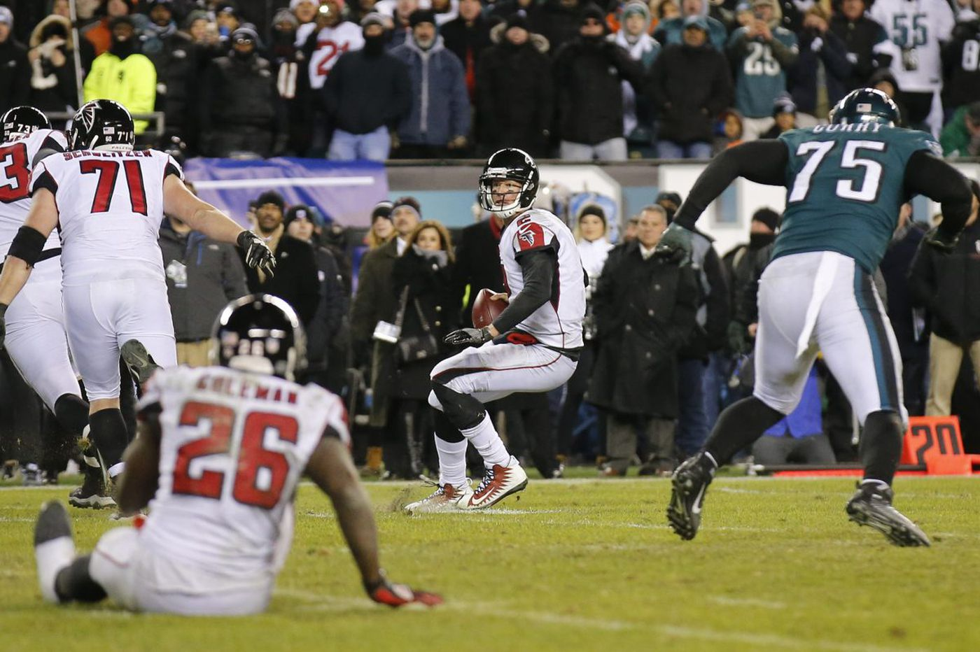 Eagles beat Falcons: A look inside that final play