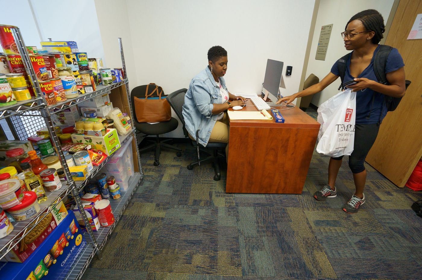 At Temple, campus food pantry becomes summer lifeline for hungry students
