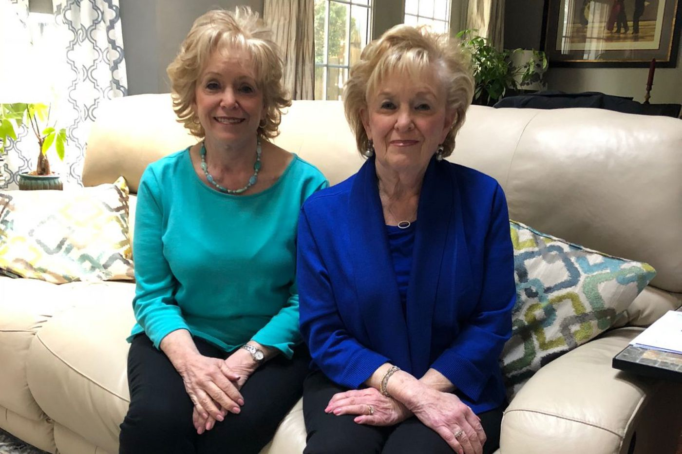 Her identical twin saved her life 25 years ago. Now they're cancer activists